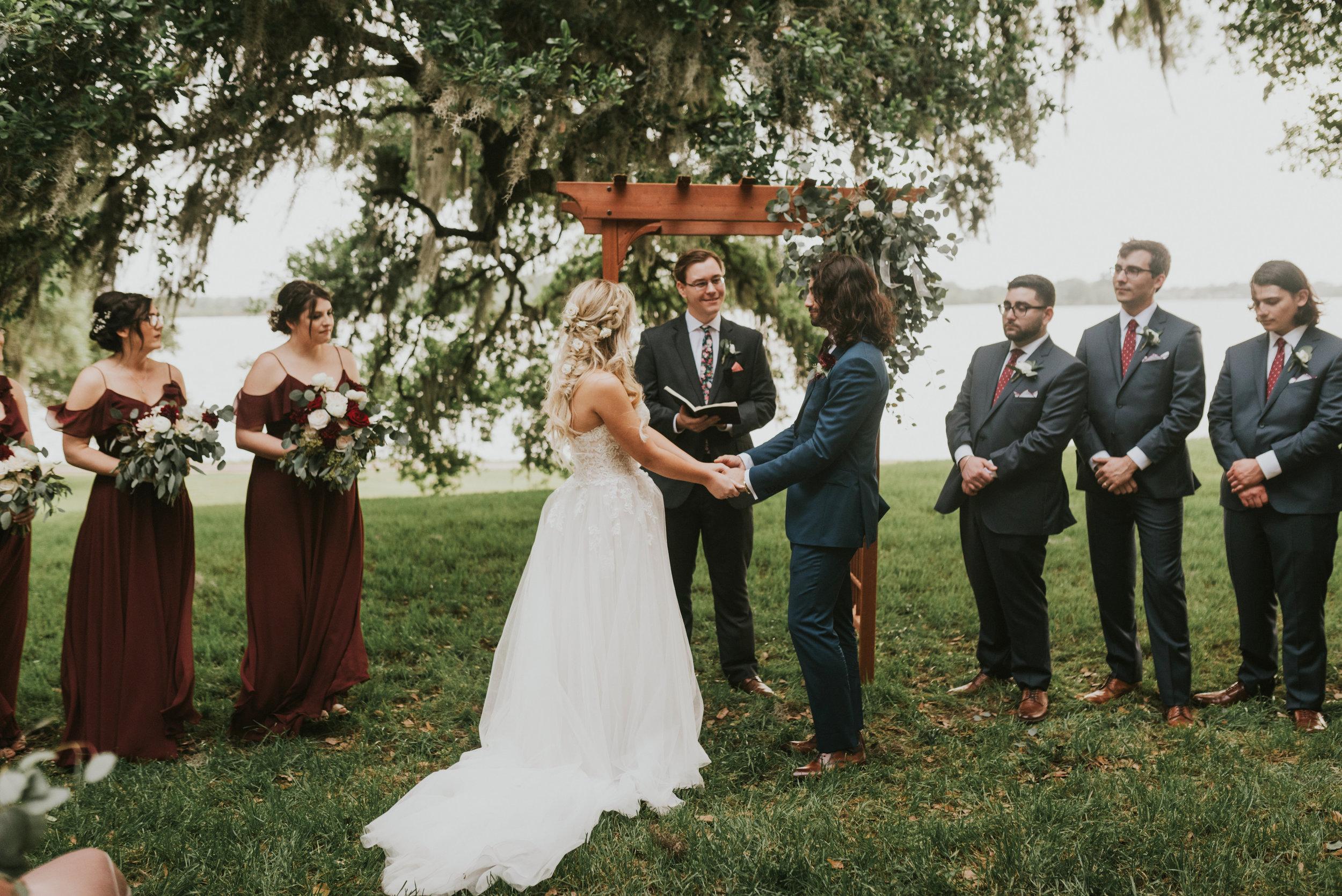 Southern Fete, Southern Wedding, Wedding Ceremony, Jen Menard Photo