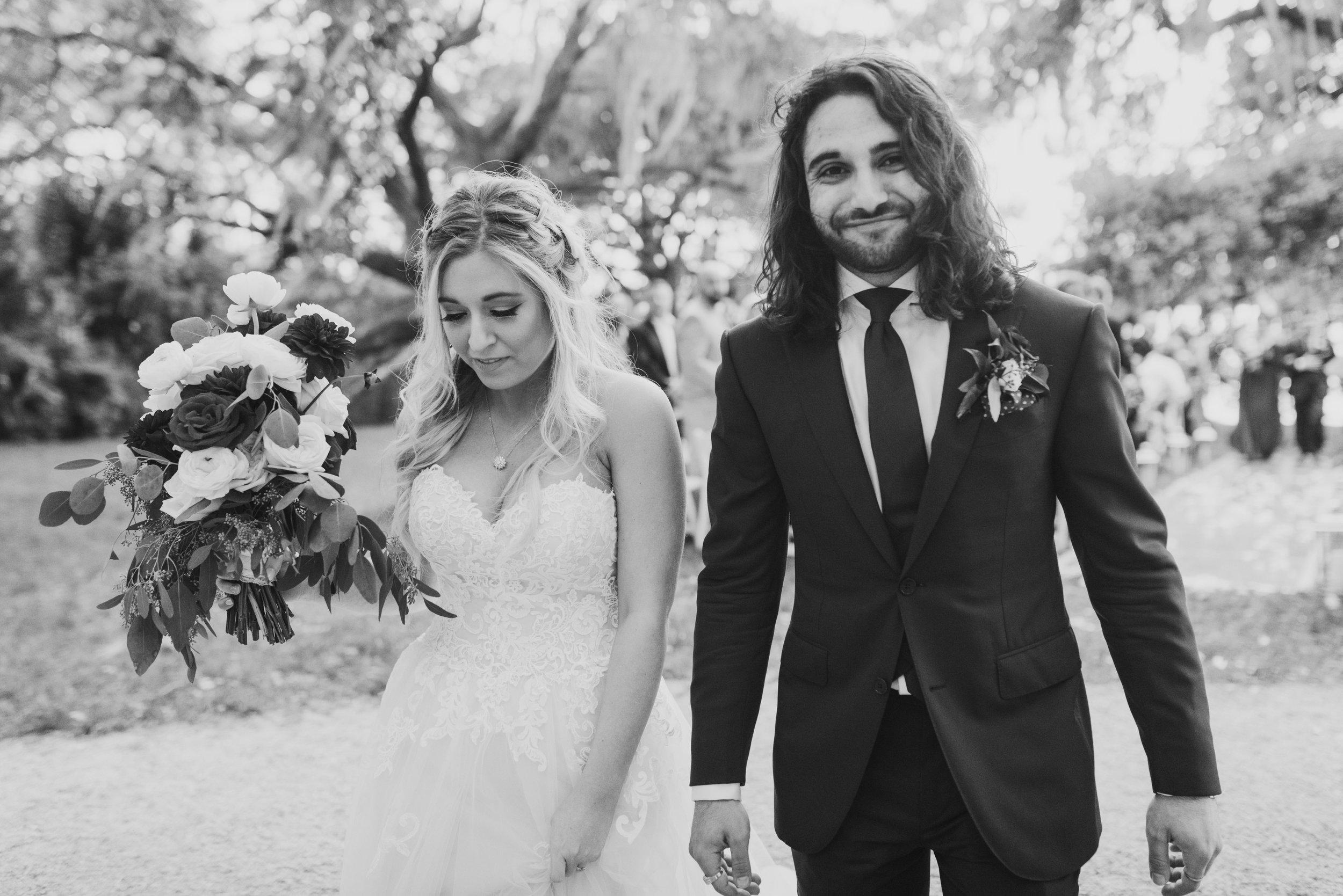 Southern Fete, Southern Wedding, Bride and Groom, Jen Menard Photo
