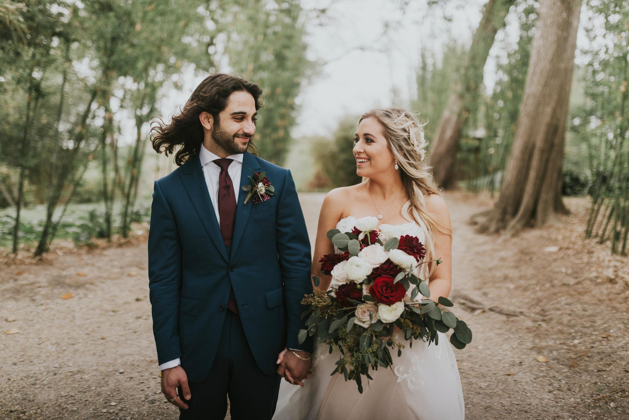 Southern Fete, Southern Wedding, Bride and Groom, Jen Menard Photo, Rip Van Winkle Gardens