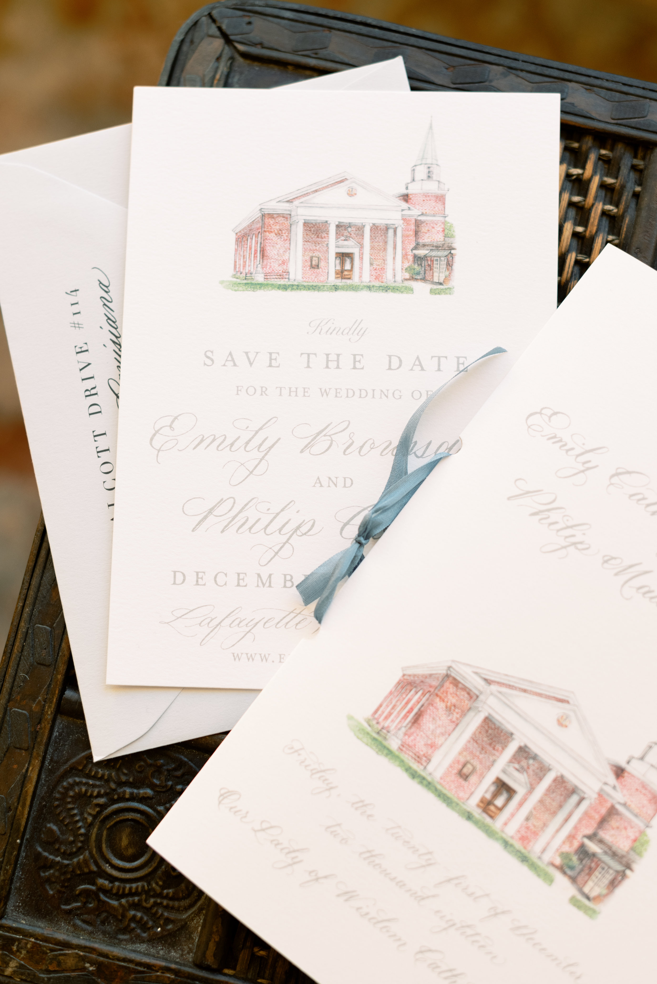 Southern Fete, Southern Wedding, Save the dates, St. Blanc Creative