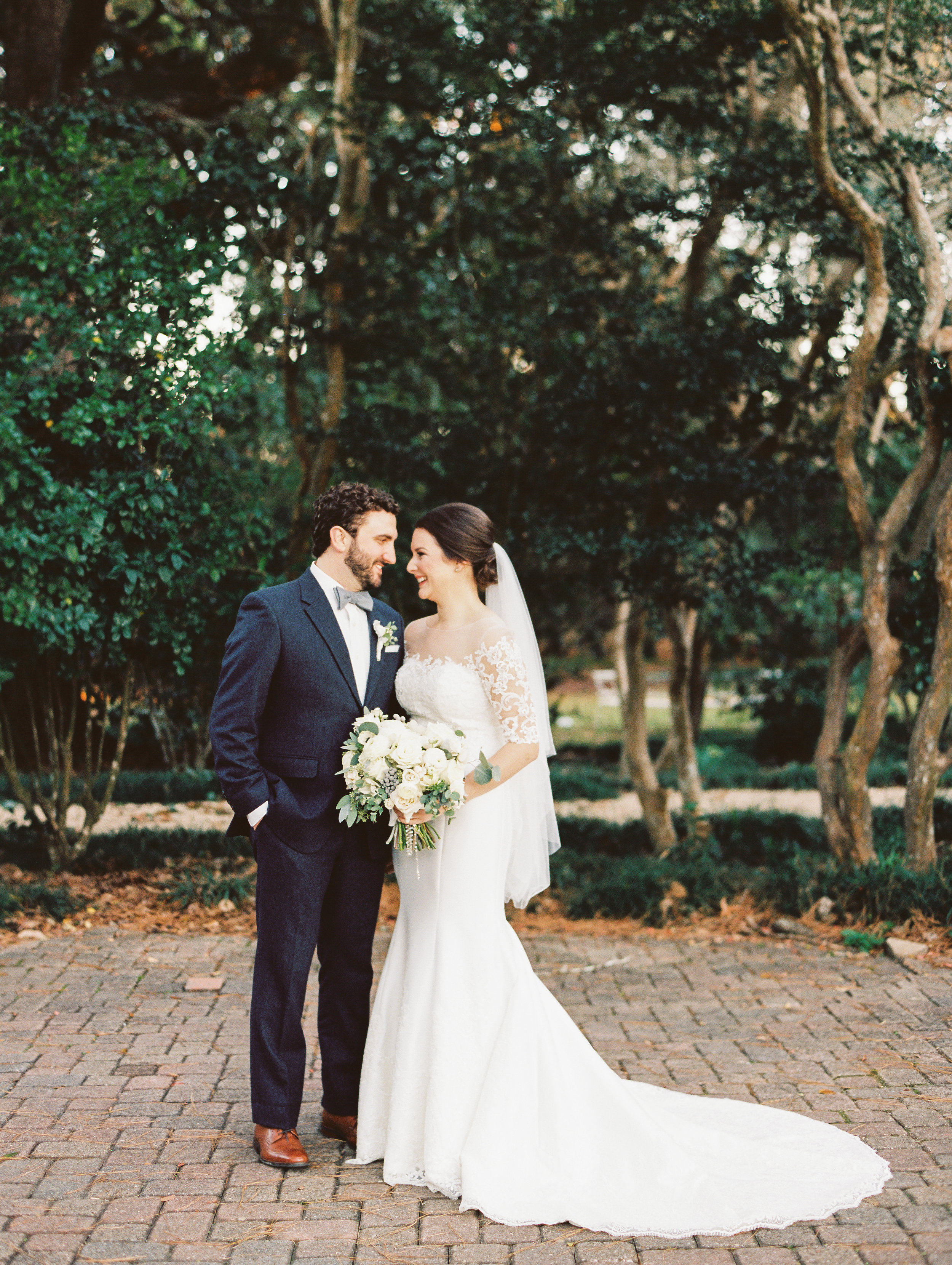 Southern Fete, Southern Wedding, Bride and Groom Moment, Sarah Beth Photography, Petals and Pots
