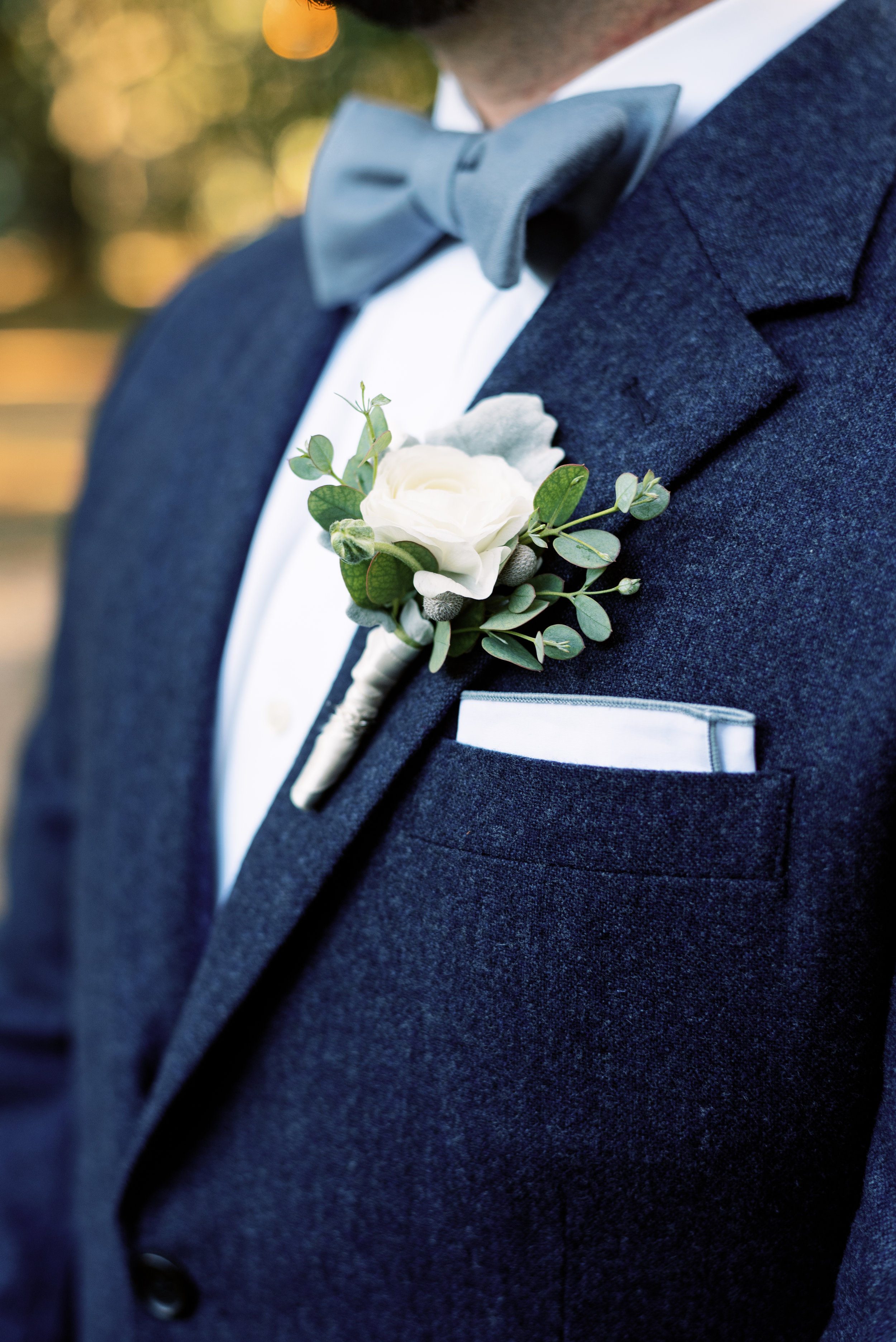 Southern Fete, Southern Wedding, Groom's Tux, Petals and Pots