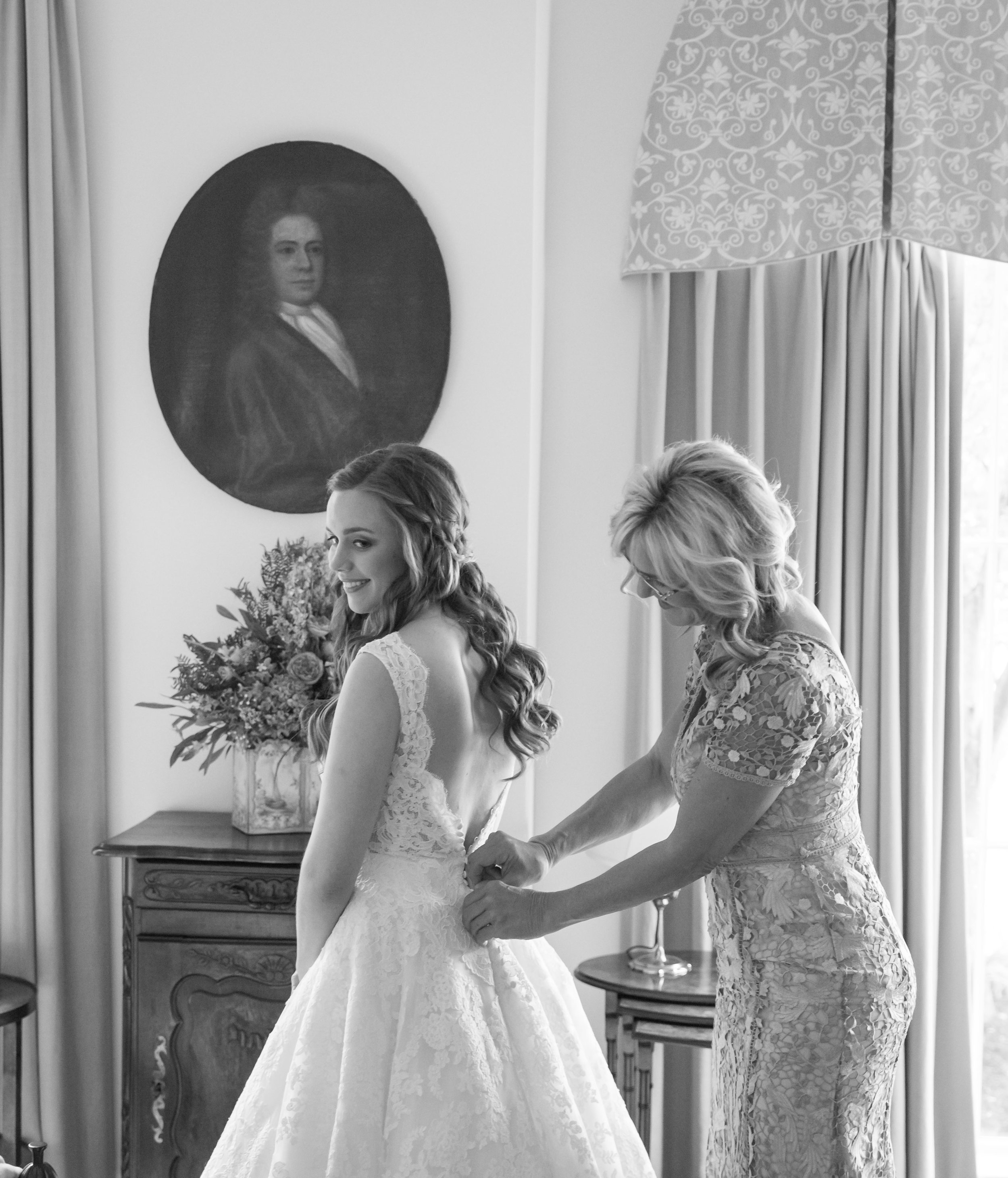 Southern Fete, Southern Wedding, Bride and her Mom, Jay Faugot Photography