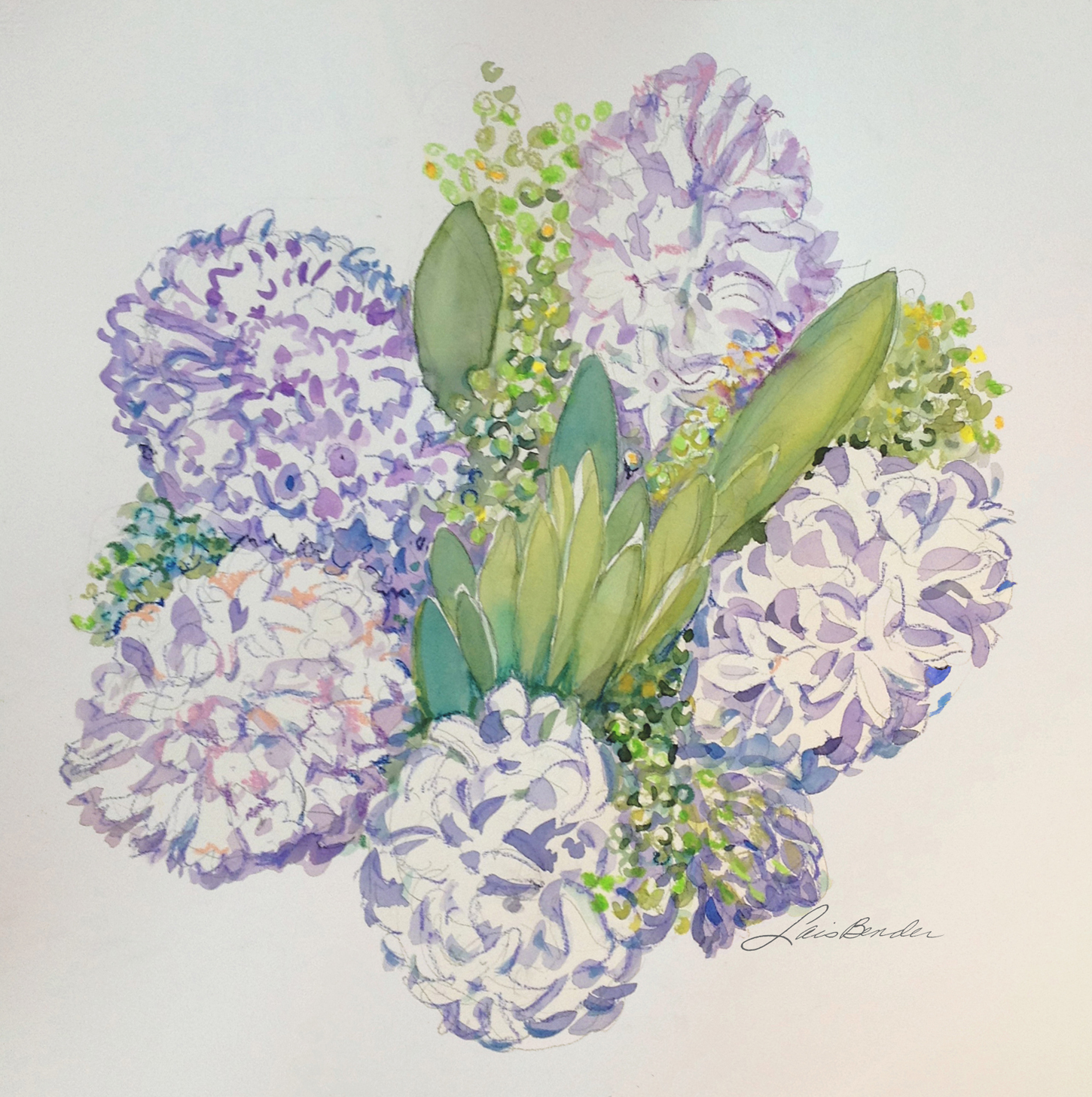 Hyacinth Bouquet II