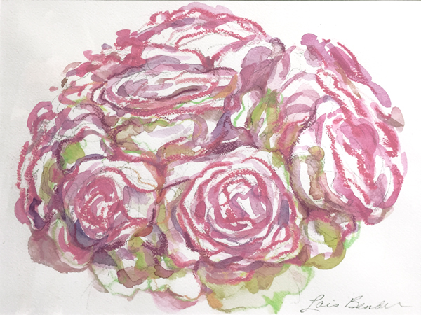 Roses Bouquet — Digital Print - Roses Gallery