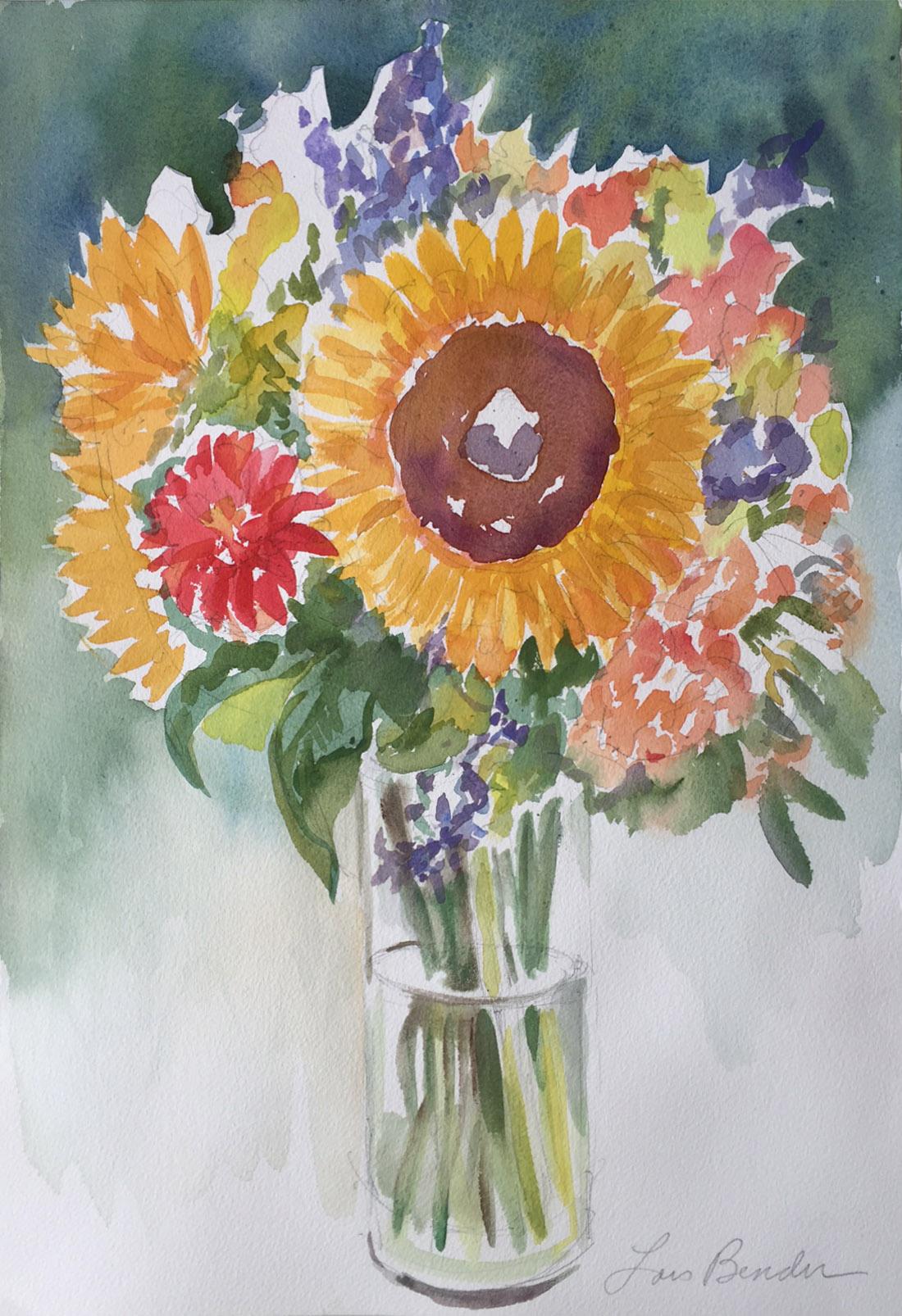 Sunflowers Bouquet III
