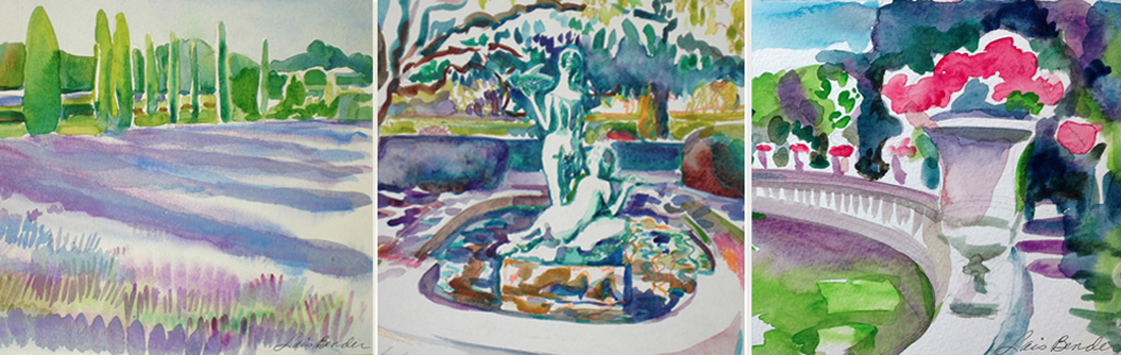 Classes in Color Studies in Gardens