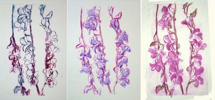 """""""Dendrobium Orchid Series I"""""""