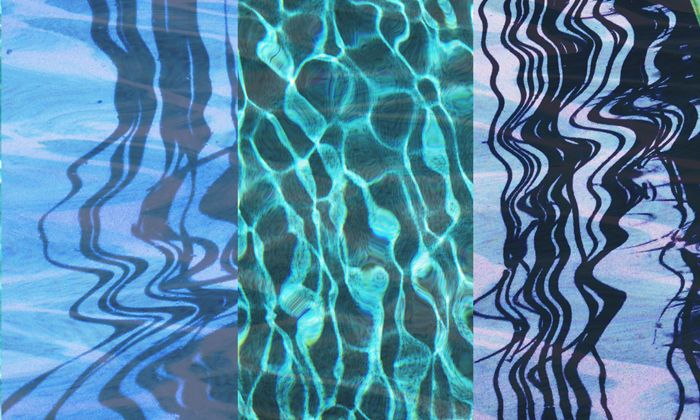 """Blue Pools of Reflections"""