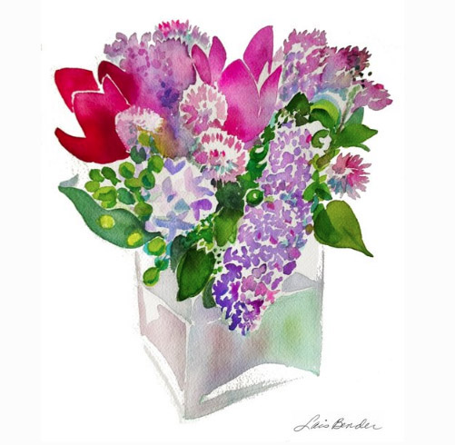 Flora Bloom Watercolor Collection