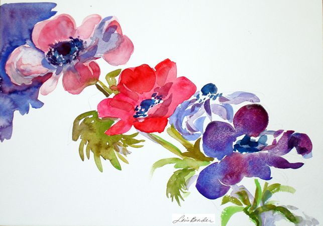 %22Spring Anemones I%22 15%22 x 11%22 Watercolor.jpg