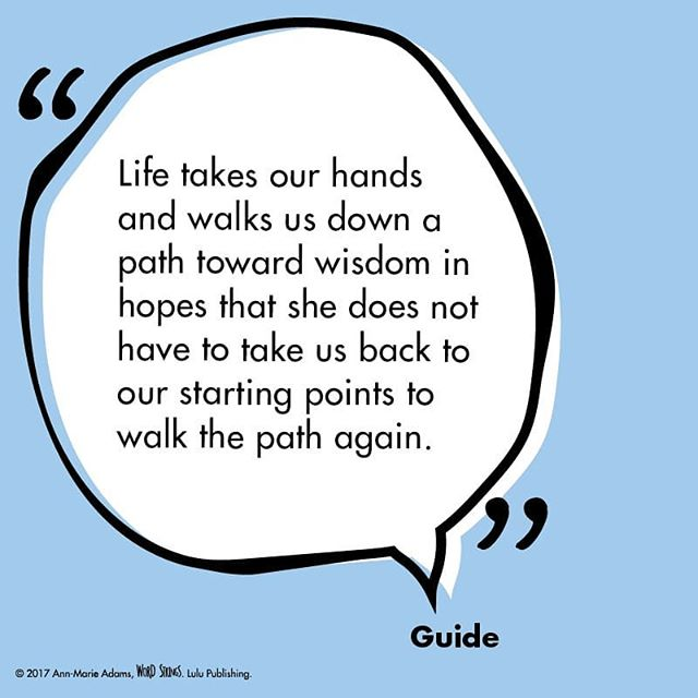 Truth is, life will walk you down the path as many times as it takes. #hope #determination #journey