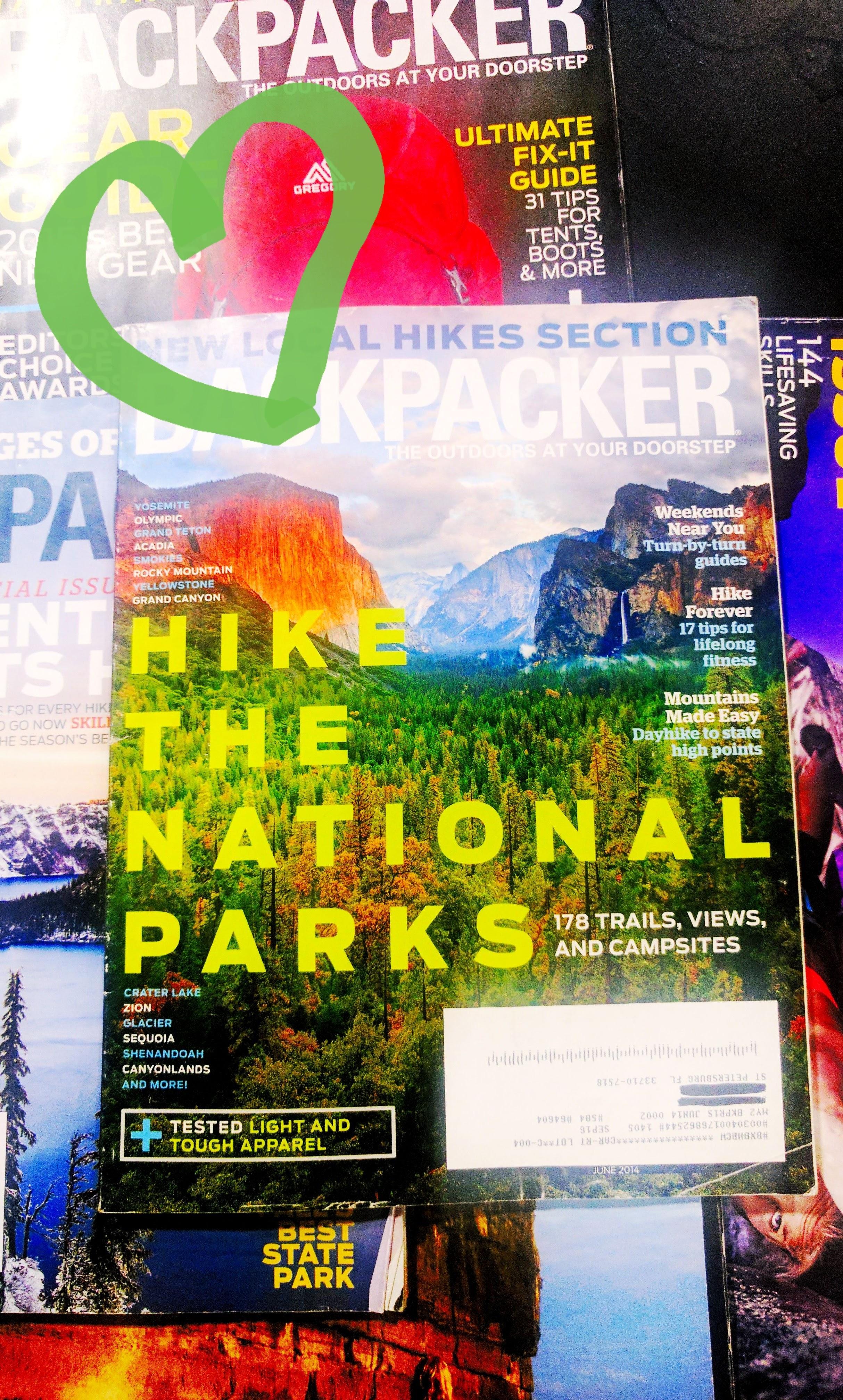 Magazines with National Parks make me Wanderlust Bigtime!