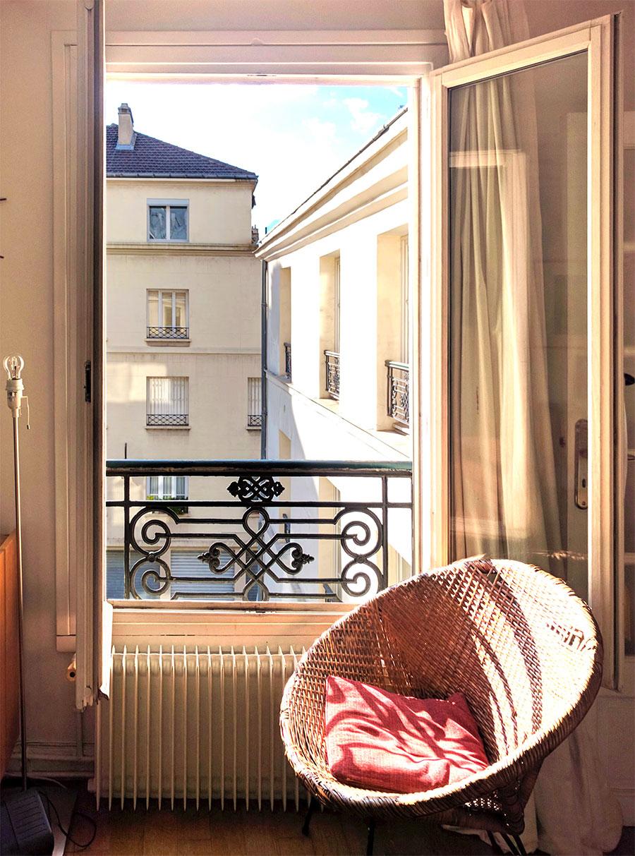 Parisian Apartment, where I crashed summer 2016.