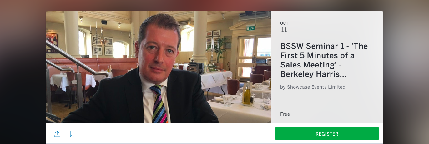 Click here to Book Free Tickets Now -    https://berkeley-harris-sandler-seminar.eventbrite.co.uk