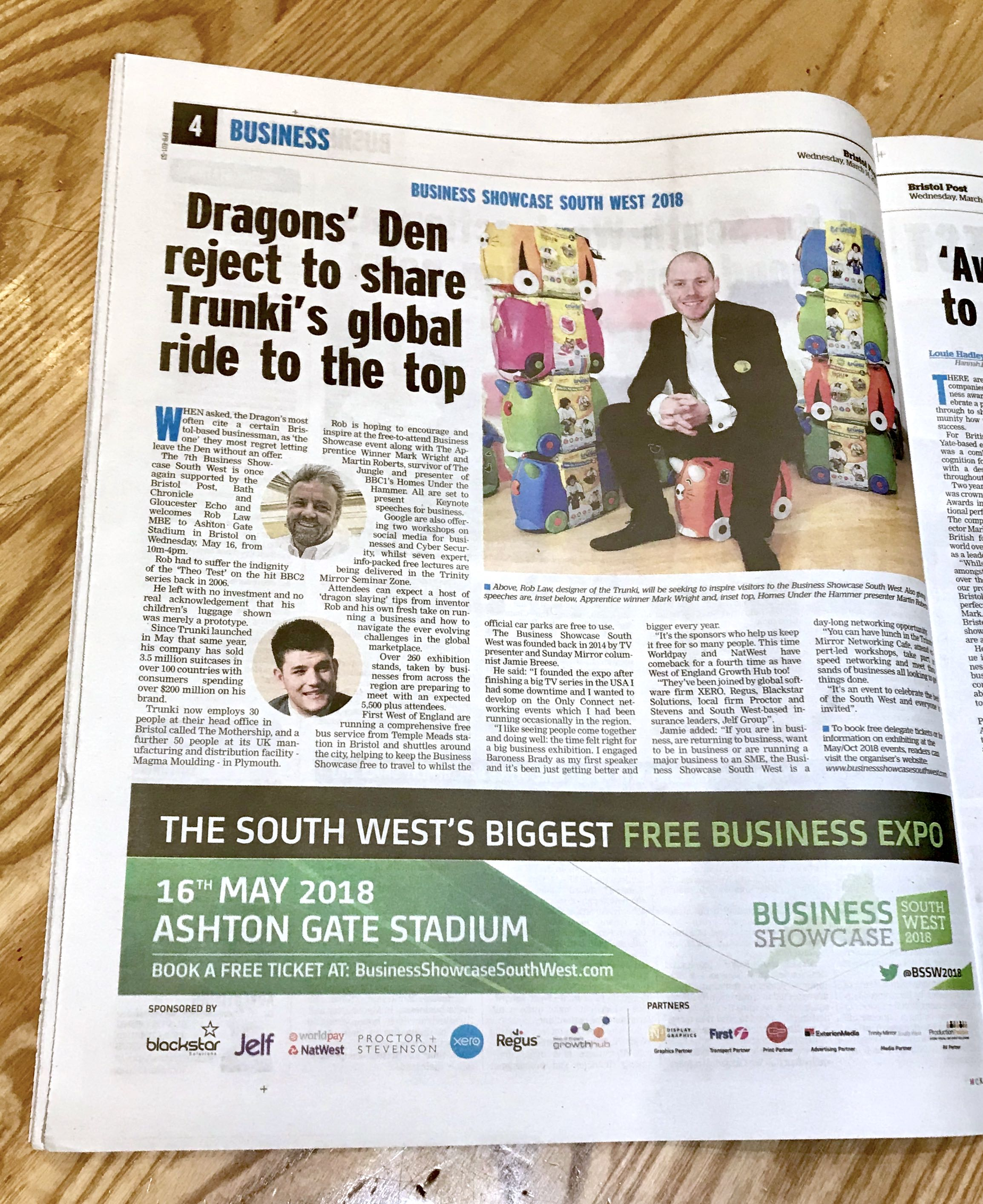 Bristol Post - 14th March - Business Section.jpg