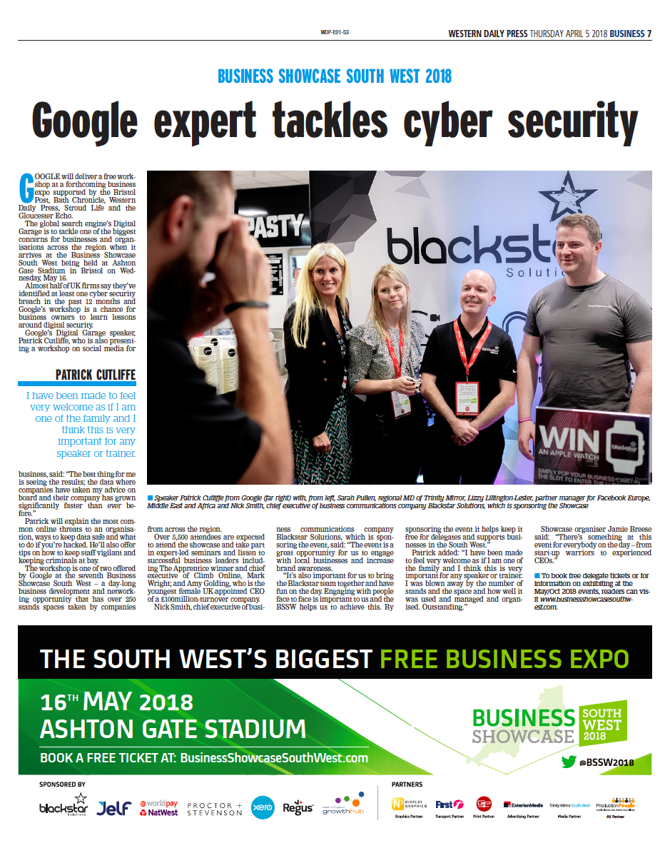 CLICK TO READ ABOUT GOOGLE AT OUR MAY EVENT