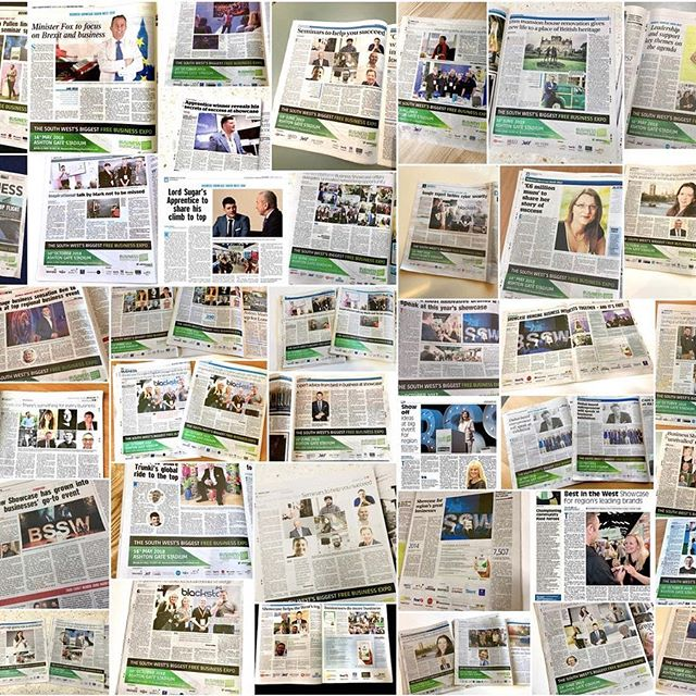 WANT EPIC BUSINESS PR/EXPOSURE IN THE SOUTH WEST? We've achieved hundreds of full-pages of press coverage for our Business Showcase South West thanks to our media partner Reach plc. Our Sponsors will receive huge exposure as part of the main event sponsorship of our 10th event on 23 Oct at Ashton Gate Stadium. If you are interested in sponsoring the event, please review the proposal online here: https://lnkd.in/eVddcqR  and contact us directly. #expos #sponsorships #bssw