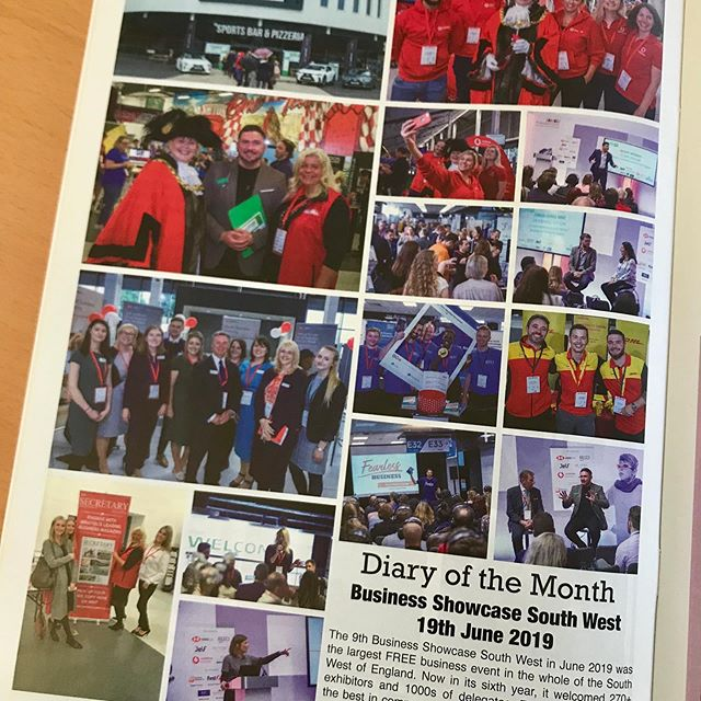 Great coverage in the Secretary Magazine of June's Business Showcase South West thanks to Whats On Bristol Nikki Cook. Photos by @joncraig_photos If you want to exhibit at or sponsor this October's event, do get in touch. In the photos are speakers, delegates and exhibitors including: Jo Harte Robin Waite Dan Martin Emma Jones Mark Wright Sarah Lucas and the Lord Mayor of Bristol. #exhibit #showcase #exhibiting  #photos  #exhibition  #sponsorships  #networkingevents #bssw