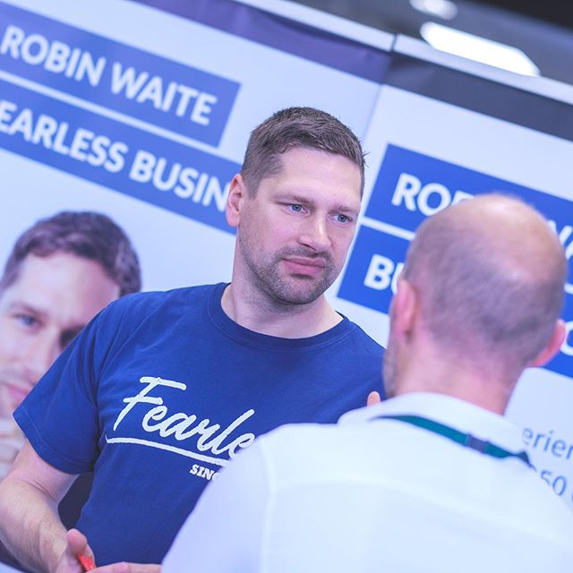 Author and coach Robin Waite of Fearless yielded £9,600 of new business just a few weeks after the June Showcase. Have you thought about exhibiting?