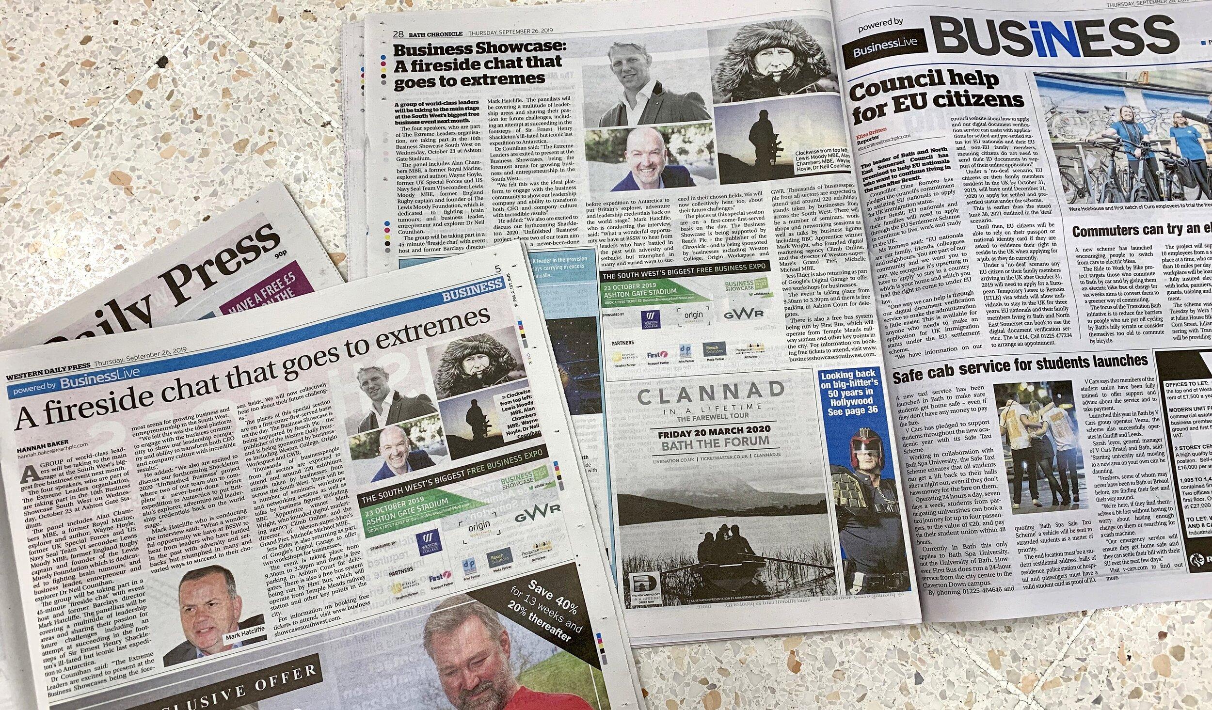 Bath Chronicle and Western Daily Press - 26 Sept 19.jpg