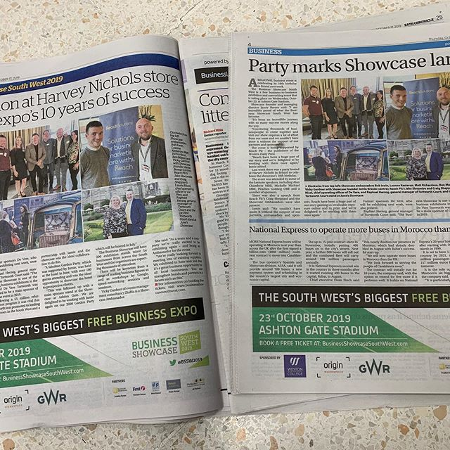 Great newspaper coverage again about our 10th BSSW on 23rd of Oct st @ashtongatestadium
