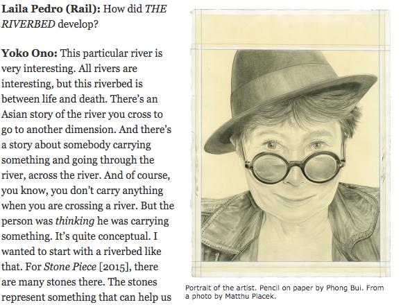 Interview | Yoko Ono, The Brooklyn Rail