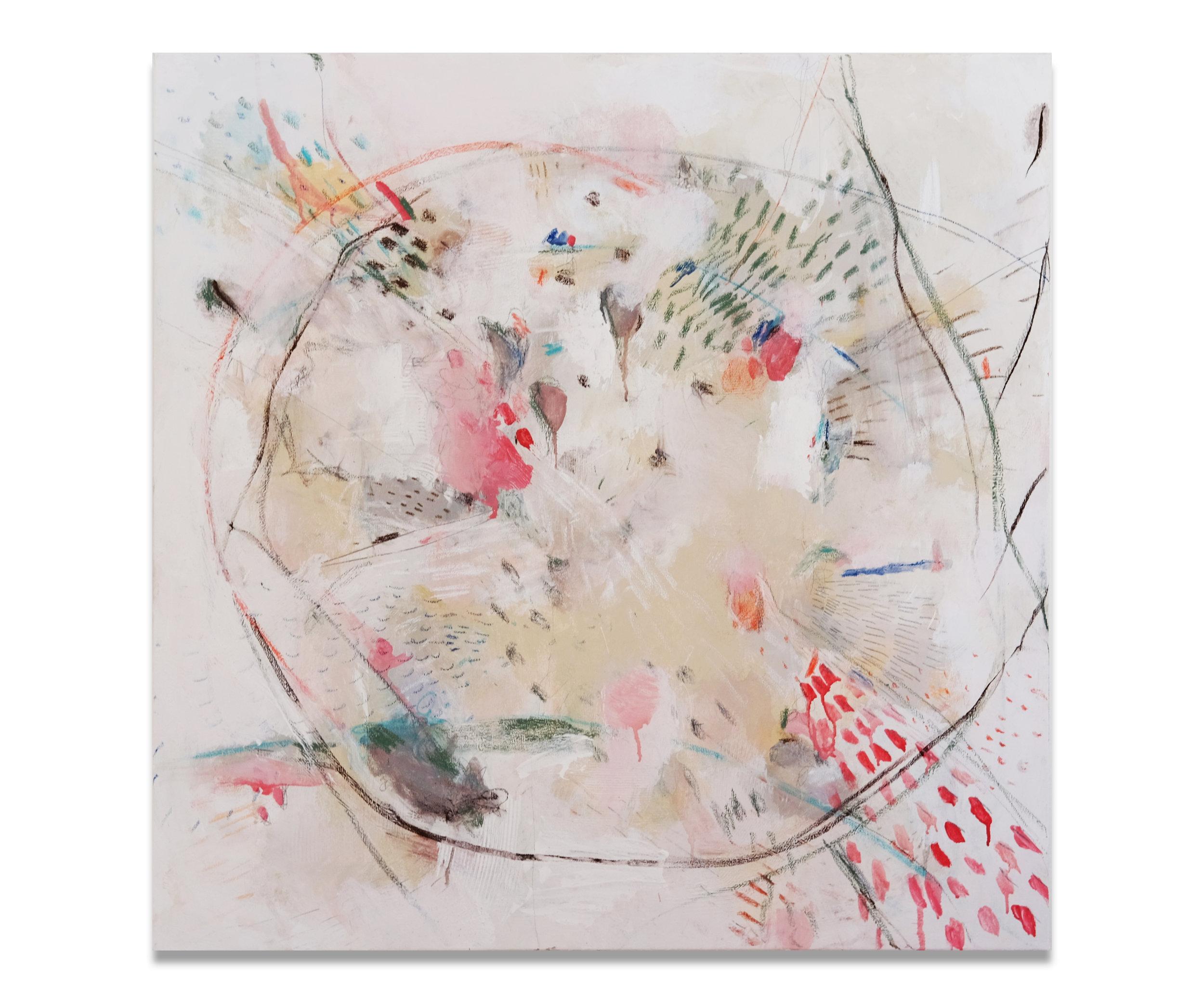 """Iza"" (30x30""), 2017."
