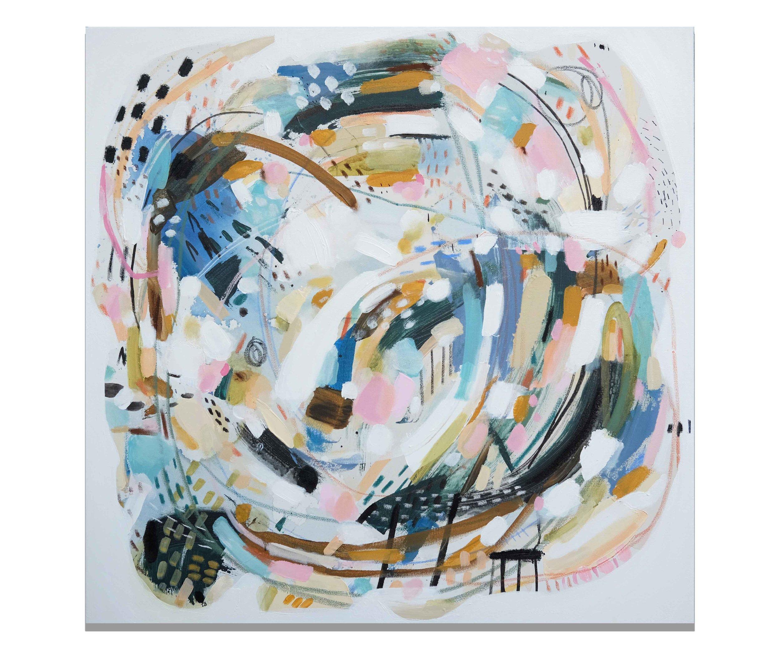 """""""Toucan"""" (36x36""""), 2017."""