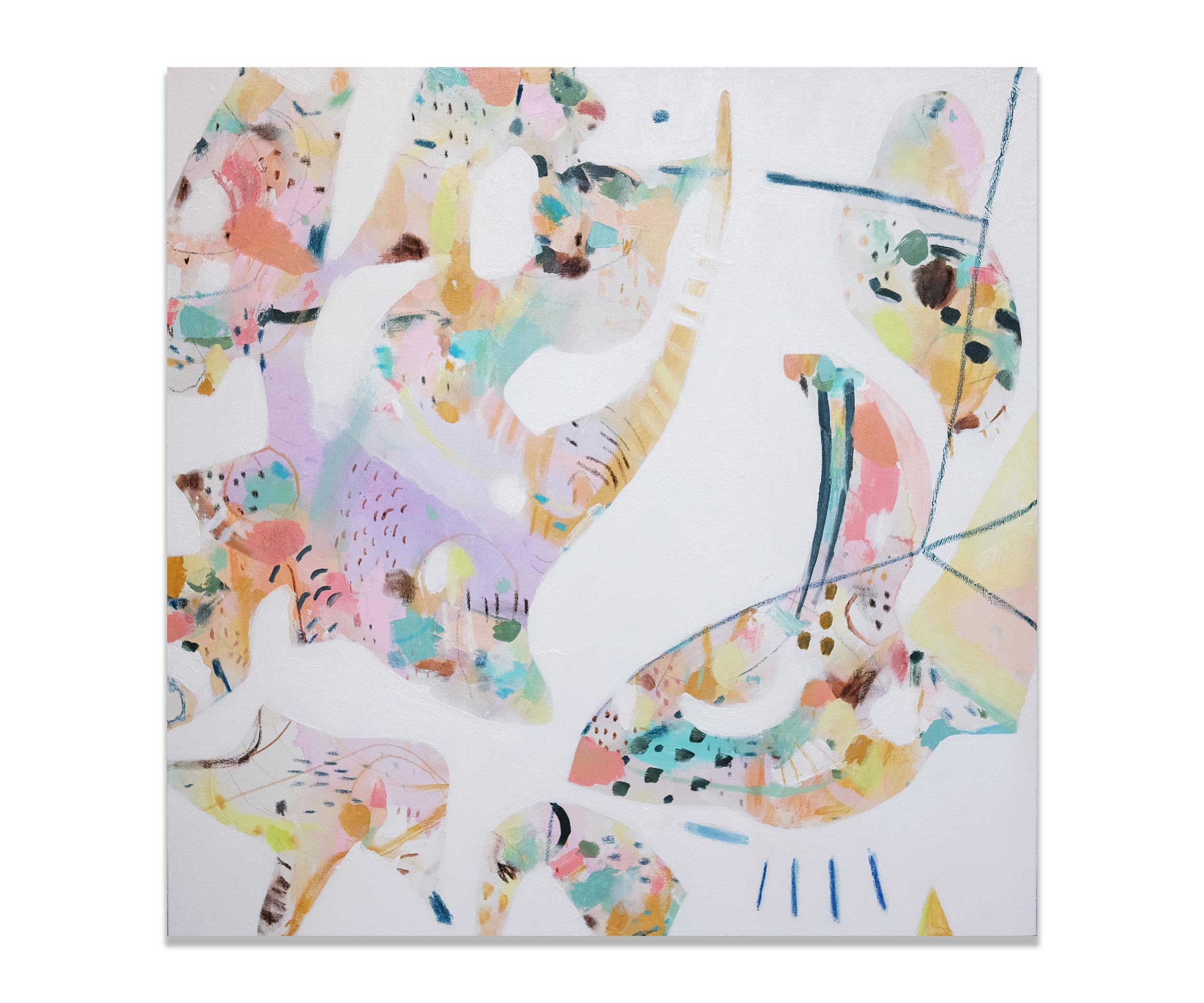 """""""Giselle"""" (30x30""""), 2018."""