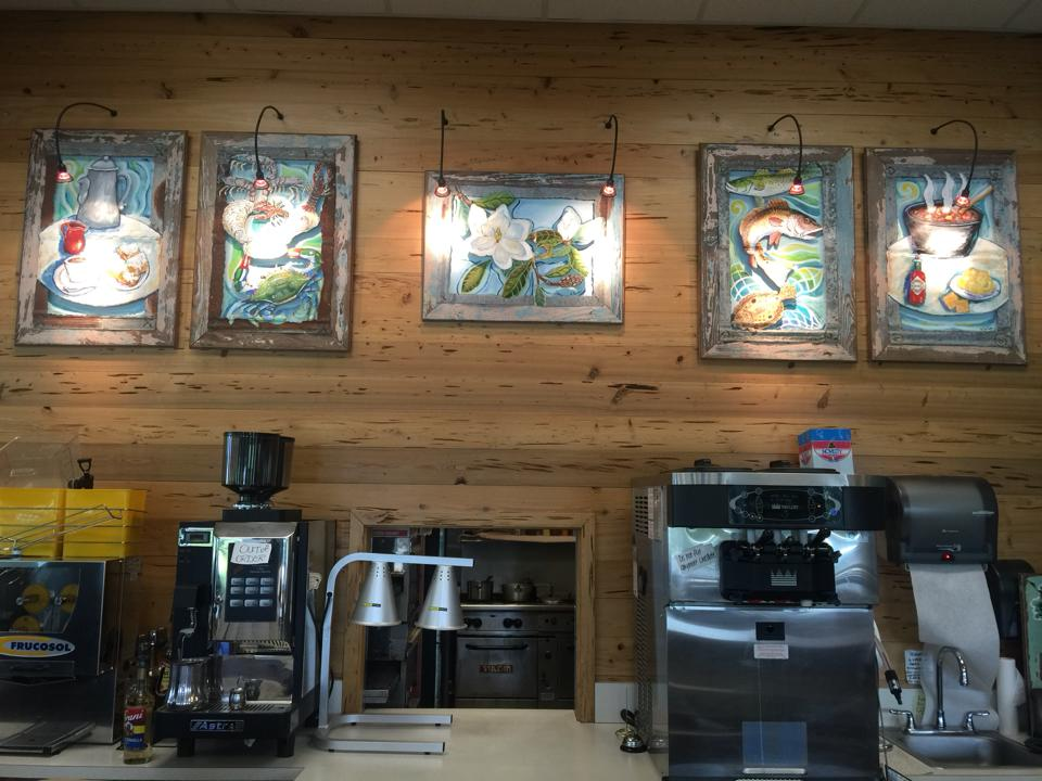 Cafe in South Louisiana