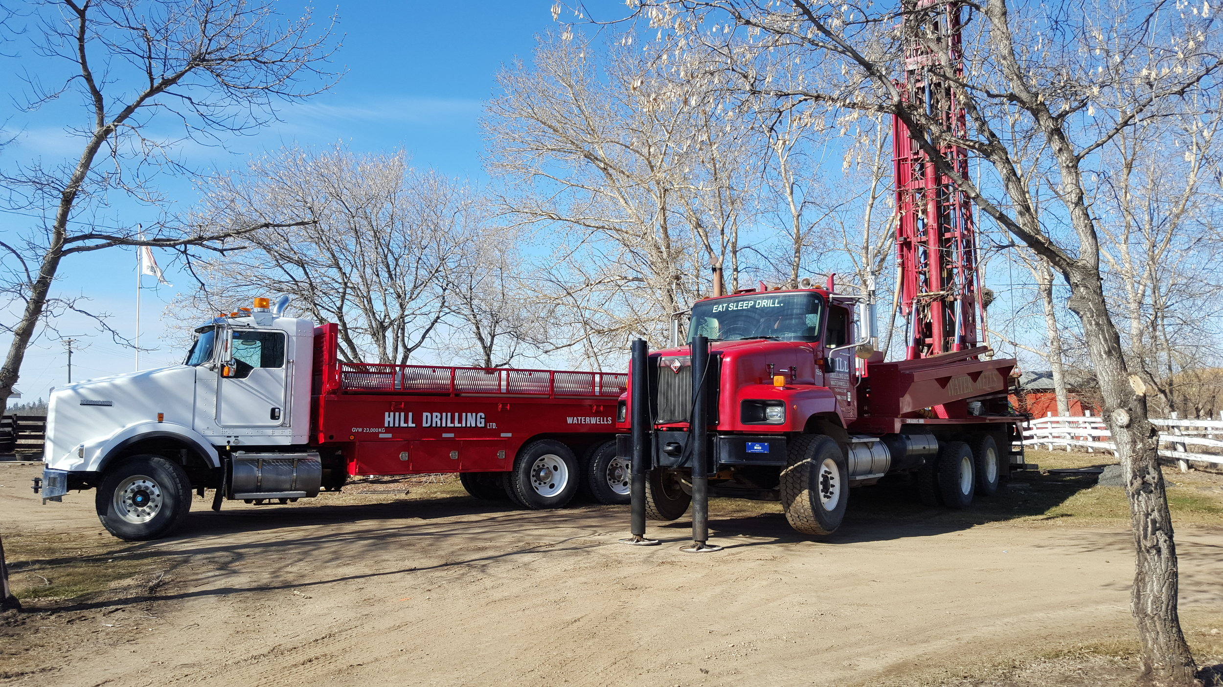 Drilling Rig & Water Truck