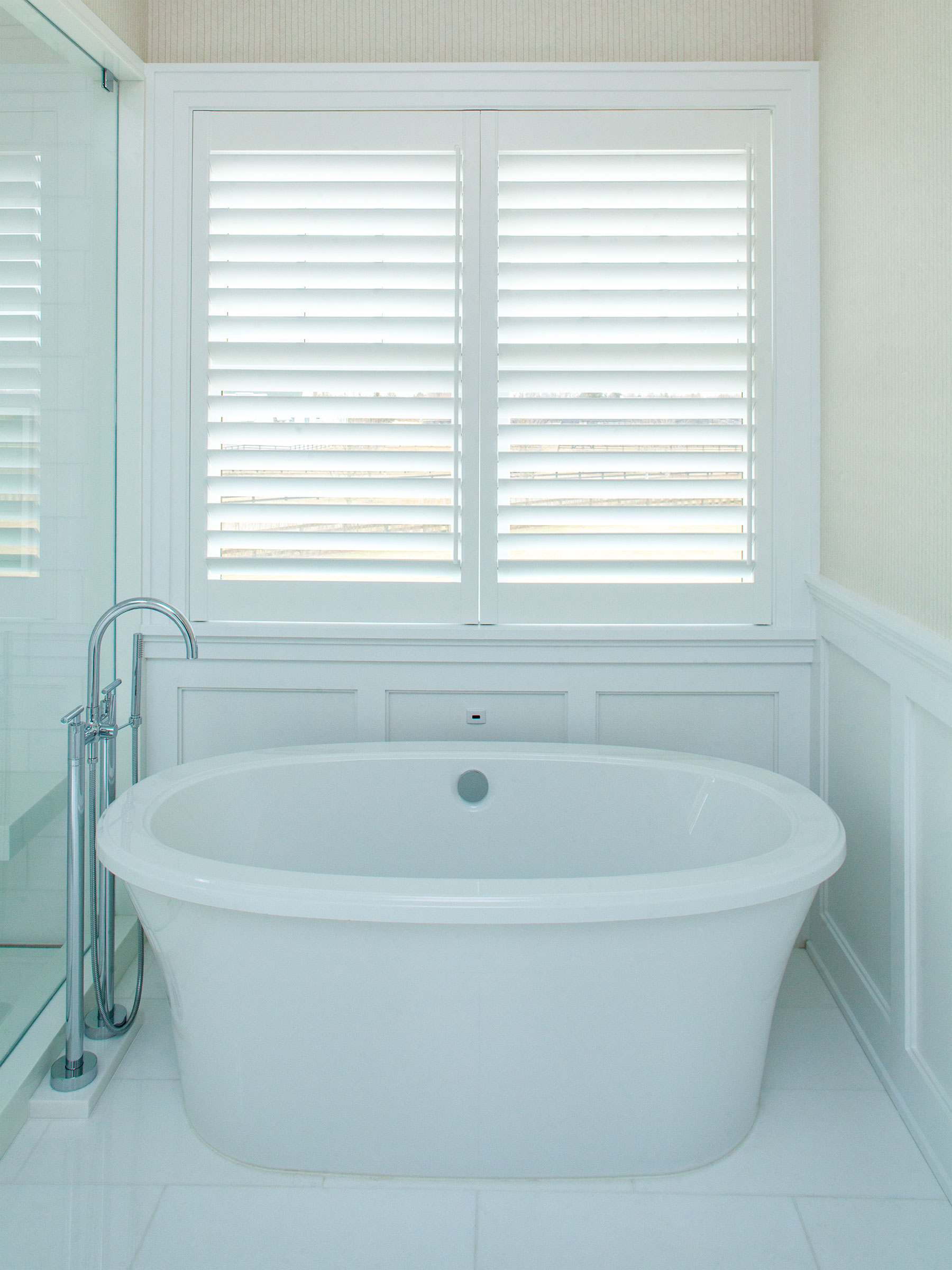 PLANTATION SHUTTERS: TWO TREES ESTATES, BRIDGEHAMPTON NY