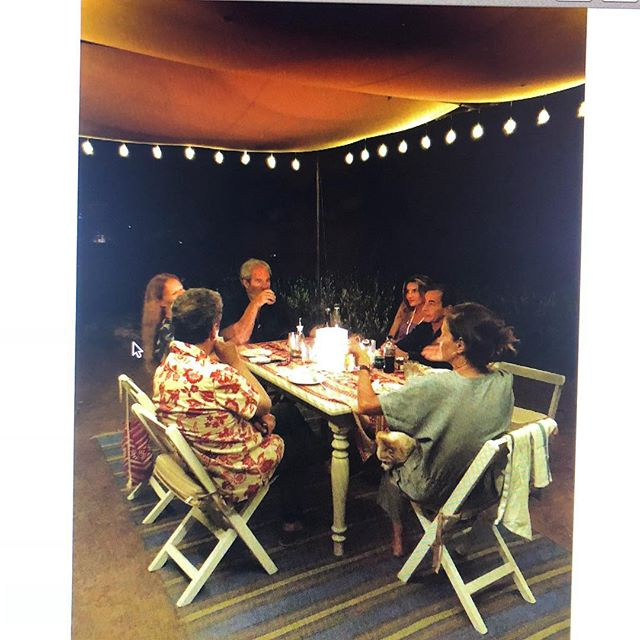 #Tbt to summer dinners 🇮🇹 a few friends, a plate of pasta and #basta