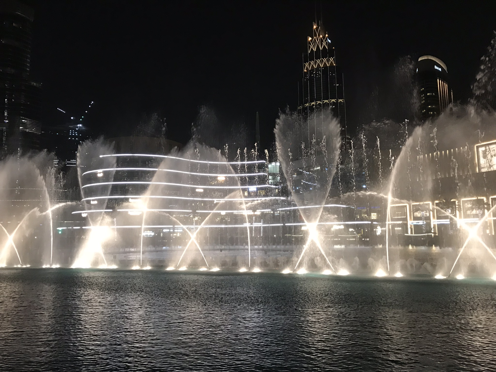 Largest fountain show in the world