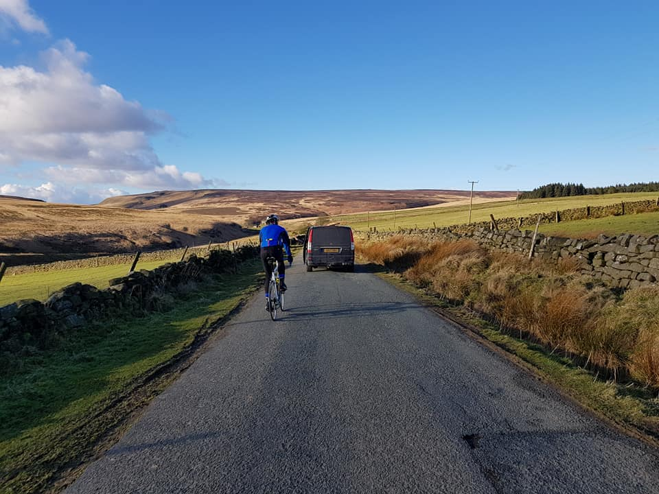 Safely sharing the road. Easy enough in my opinion.