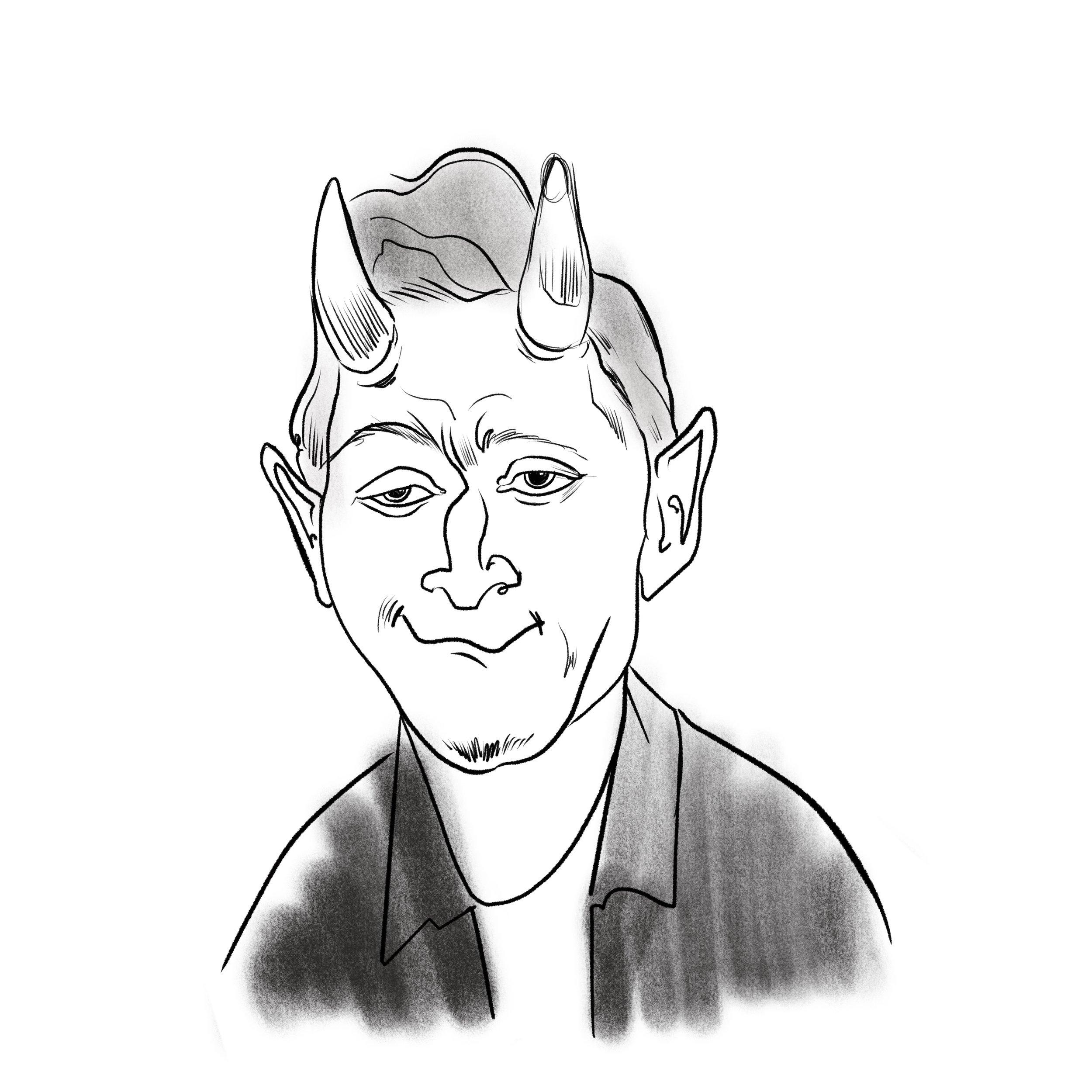 Rusty Devil Sketch A.