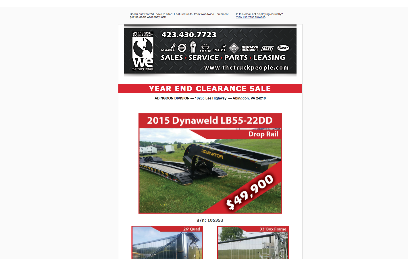 Worldwide Equiptment Enterprises Mail   Worldwide Equipment Year End Clearance Sale.png