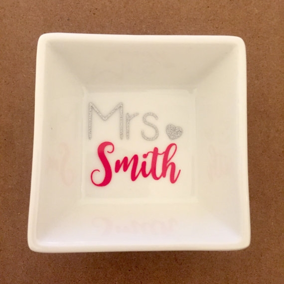 personalized jewelry dish - $10.75