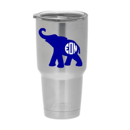 Elephant yeti decal - $5.50+