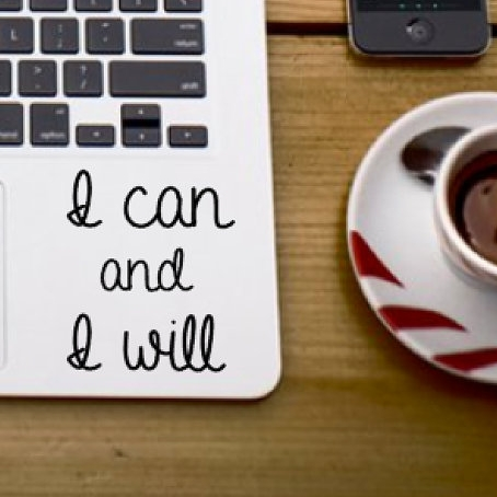 Motivational laptop decal - $4.00