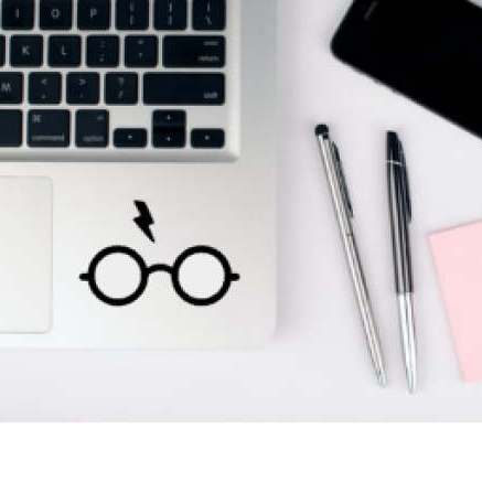 harry potter laptop decal - $3.00