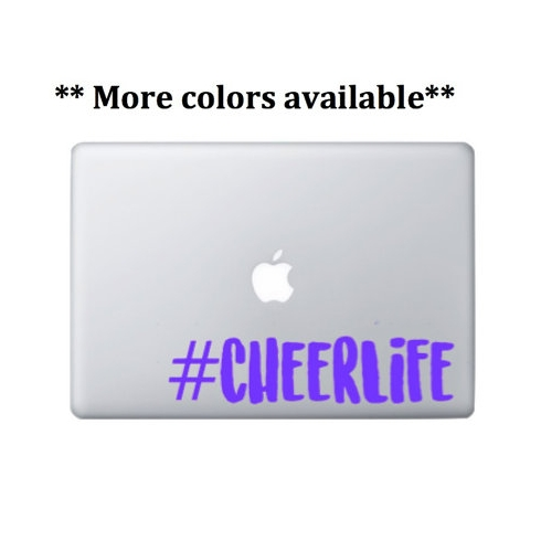 #Cheerlife laptop decal - $3.00+