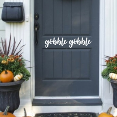 thanksgiving Door decal - $7.00