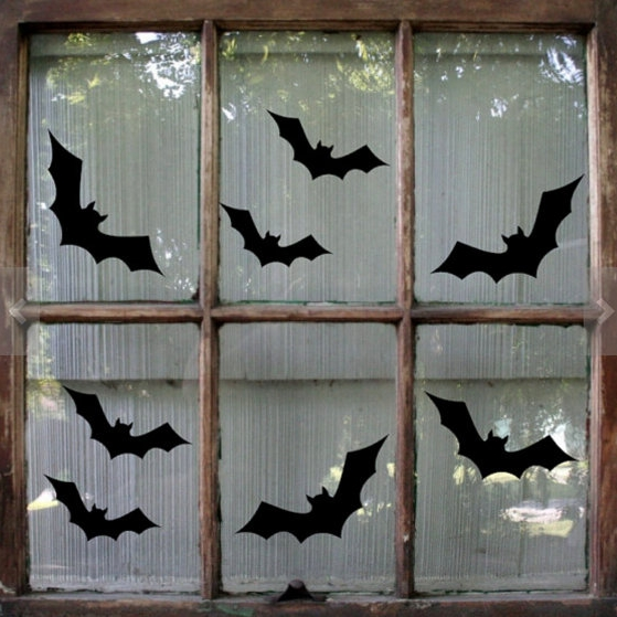 halloween bat decals - $4.00+