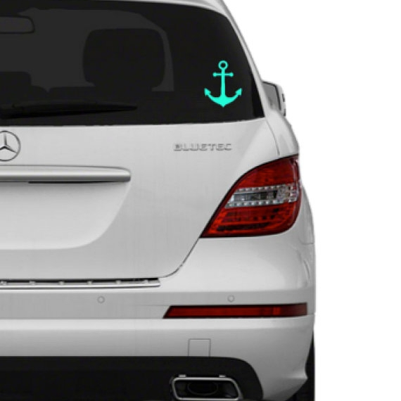 anchor car decal - $3.00+