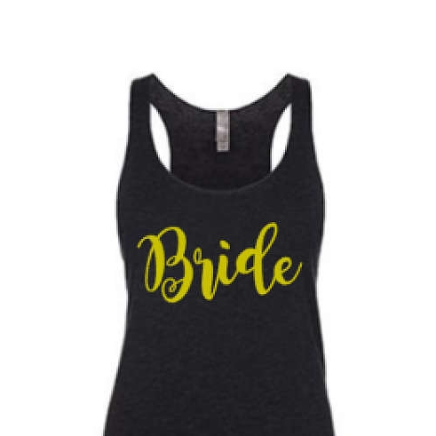 bride iron on decal - $4.99+