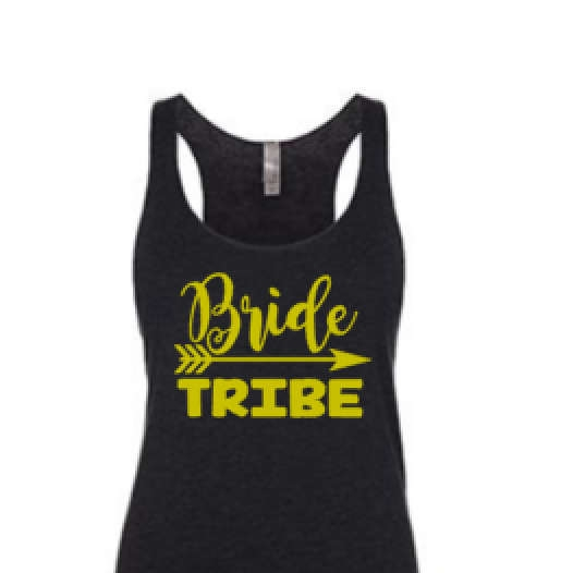 bride tribe iron on decal - $4.99+