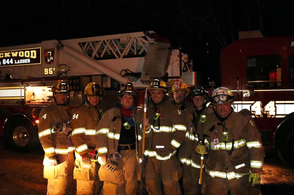 Ladder 84's Crew after completing Overhaul.