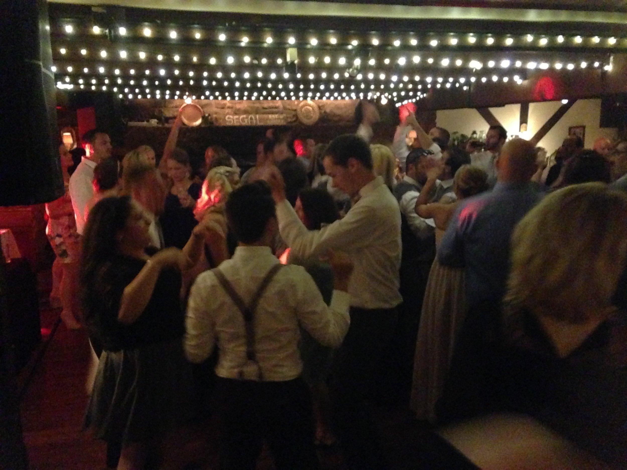 Dancing in main Area